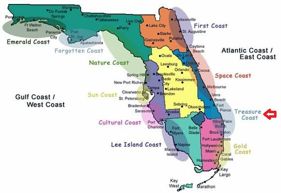 Florida Coast Map3