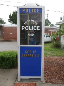 worlds smallest police station