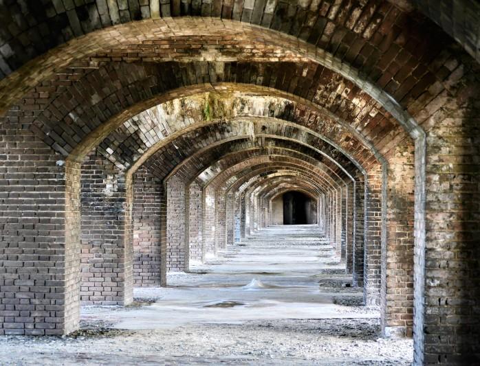 Fort Jefferson Door