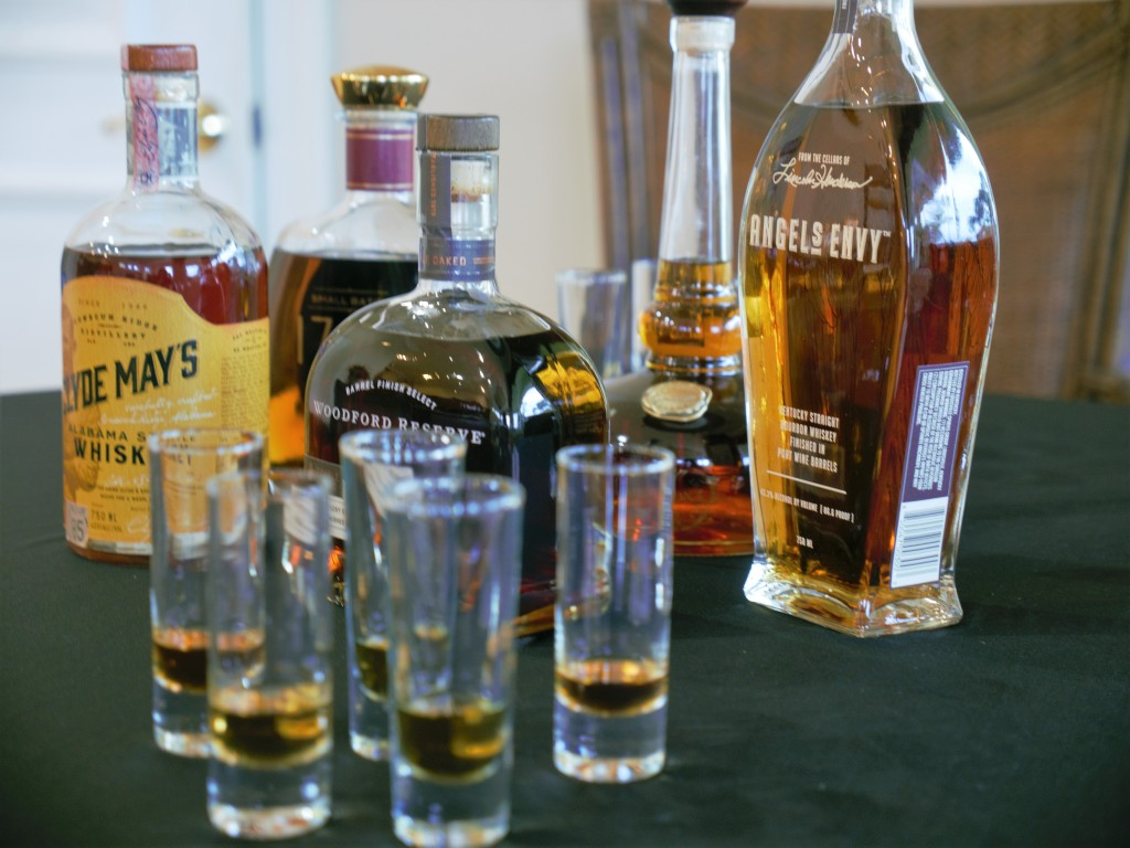 This image has an empty alt attribute; its file name is bourbontasting2.jpg